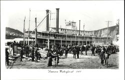 Waterfront 1900 Postcard