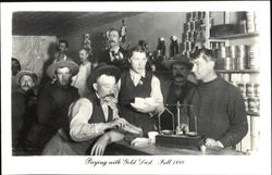 Paying With Gold Dust 1899 Postcard