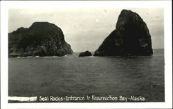 Seal Rocks Entrance To Resurrection Bay