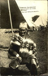 Geronimo The Greatest Indian Chief As A U. S. Prisoner