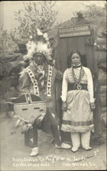 Pueblo Indian Ca-Ping & Wife Ja -Ro