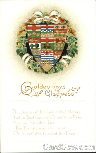 Golden Days Of Gladness Canada Misc. Canada