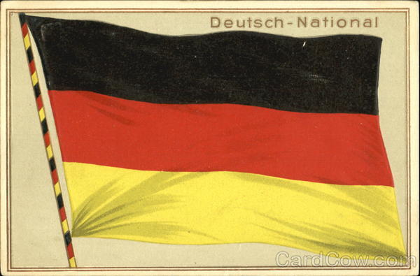 Deutsch – National Germany Flags
