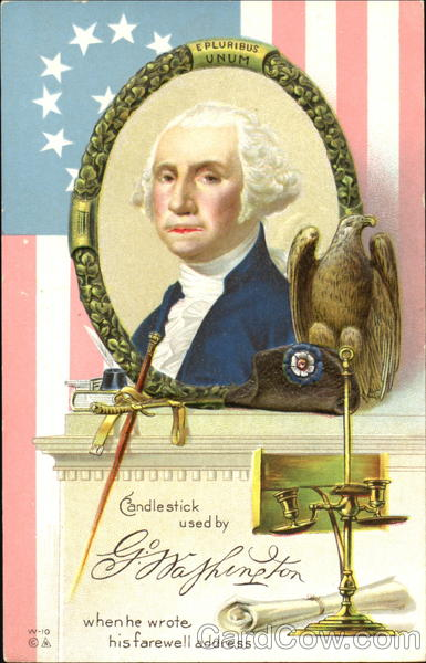 Candle Stick Used By Washington President's Day