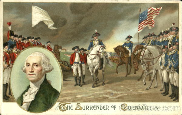 The Surrender Of Cornwallis President's Day