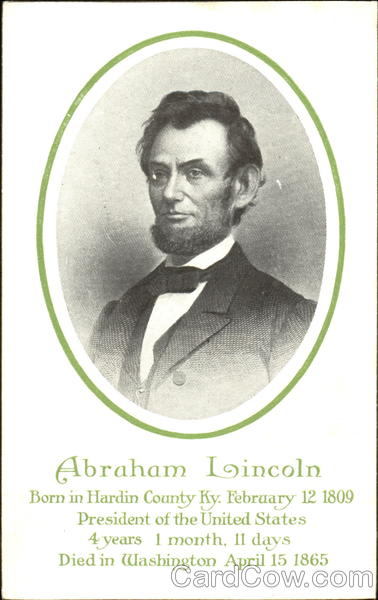 Abraham Lincoln President's Day