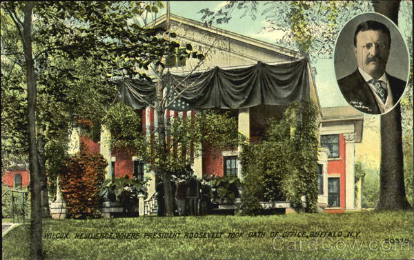 Wilcox Residence Where President Roosevelt Took Oath Of Office Buffalo New York