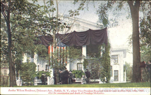 Ansley Wilcox Residence, Delaware Ave. Buffalo New York