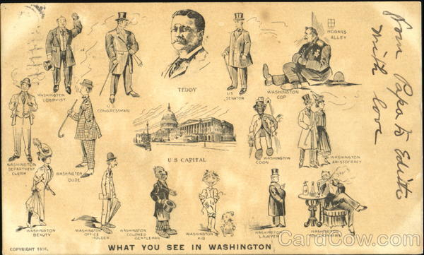 What You See In Washington District of Columbia Presidents
