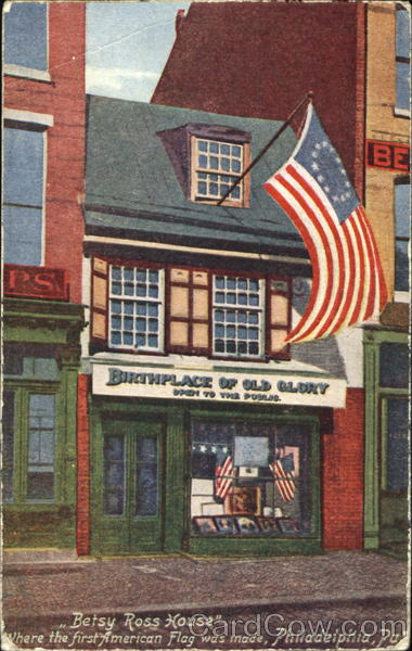 Betsy Ross House Philadelphia Pennsylvania Patriotic