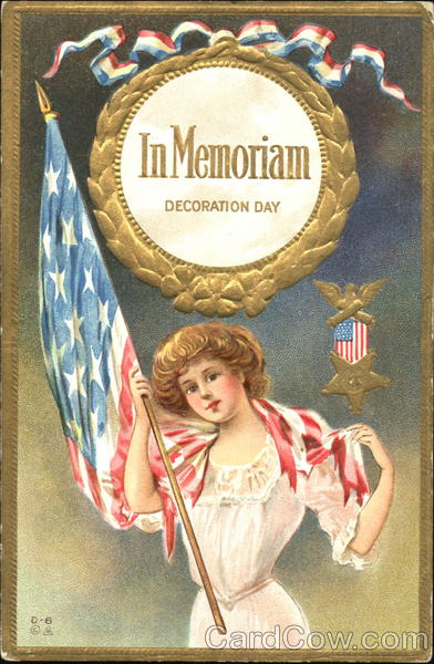 In Memoriam Decoration Day Memorial Day
