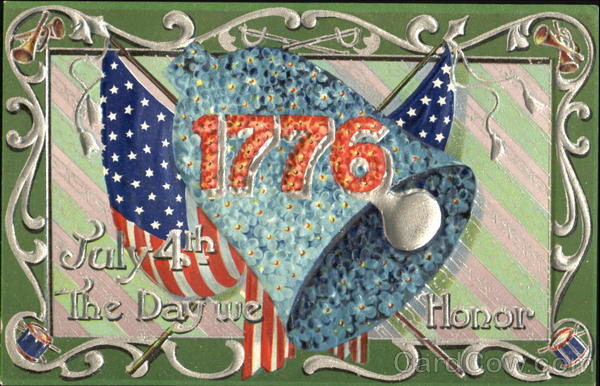 1776 July 4th The Day We Honor 4th of July