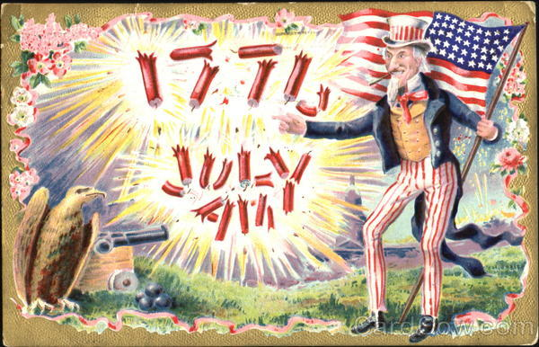 1776 July 4th 4th of July