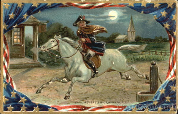 Paul Revere's Ride Patriotic