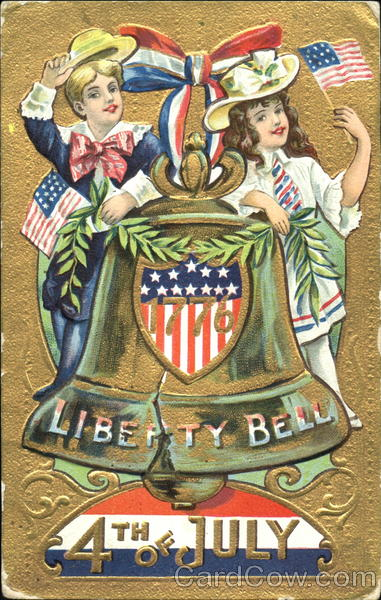 1776 Liberty Bell 4th Of July Children