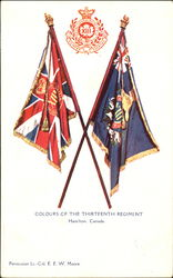 Colours Of The Thirteenth Regiment