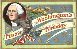 Feb. 22nd Washington's Birthday