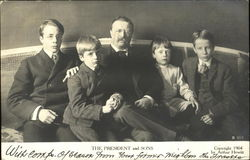 Teddy Roosevelt And Sons