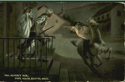 Paul Revere's Ride, State House
