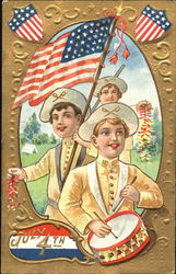 July 4th Greetings Children