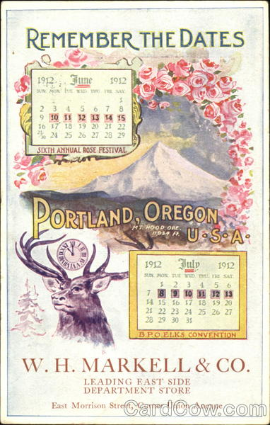 Remember The Dates Portland Oregon Elks Club