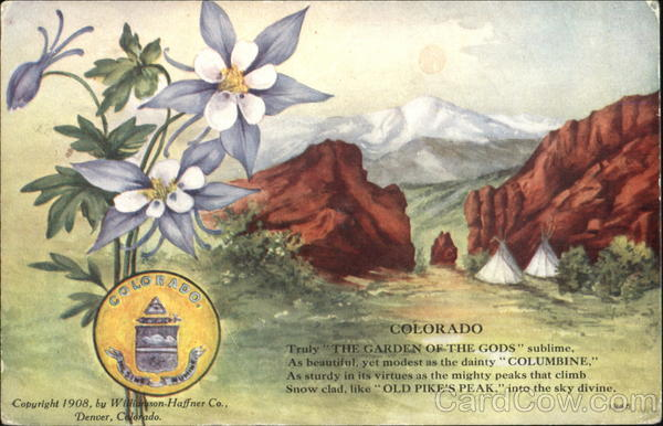 Colorado State Flowers & Seals