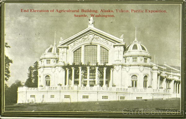 End Elevation Of Agricultural Building Seattle Washington
