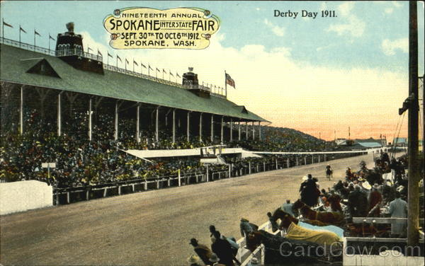 Derby Day 1911 Spokane Washington Exposition
