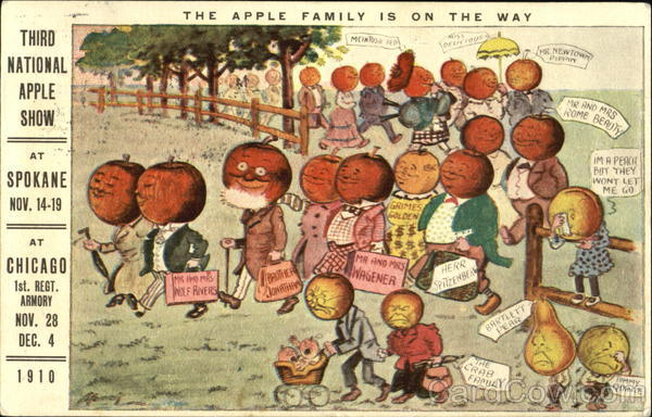 The Apple Family Is On The Way Spokane Washington Exposition