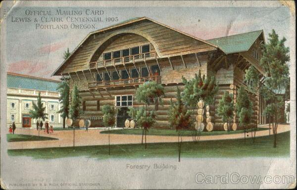 Lewis & Clark Centennial 1905 Portland Oregon