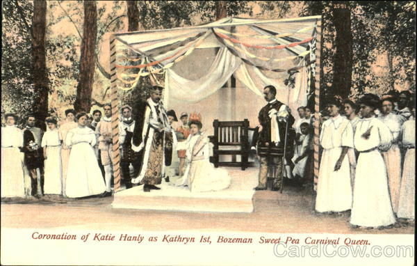 Coronation Of Katie Hanly As Kathryn 1St Exposition