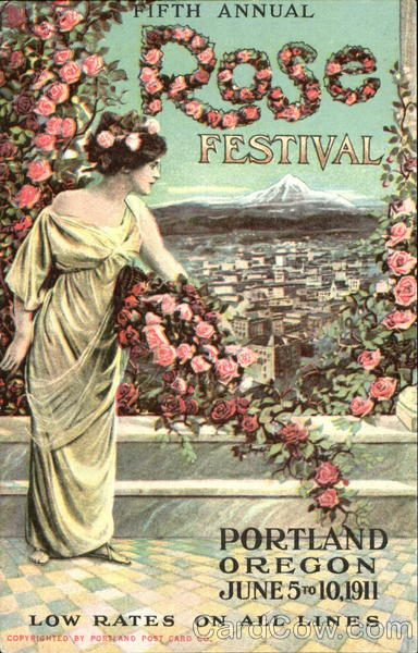 Fifth Annual Rose Festival Portland Oregon Exposition