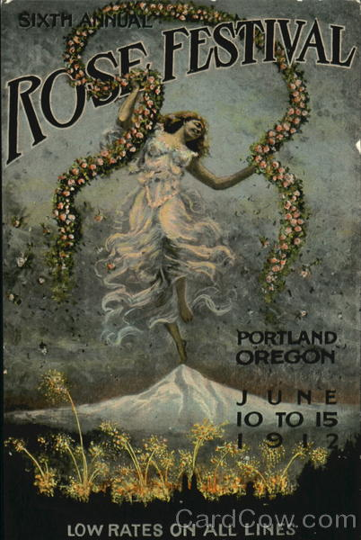 Sixth Annual Rose Festival Portland Oregon Exposition