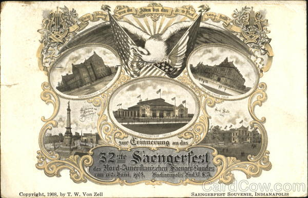 32nd Saengerfest Indianapolis Exposition