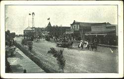 "Parade, Western Frontier Town - ""Merchandise & Meats"""