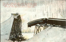 Wreck On S. Bridge Postcard