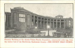 Forestry Building At The Alaska – Yukon – Pacific Exposition