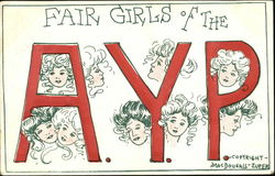 Fair Girls Of The A. Y. P