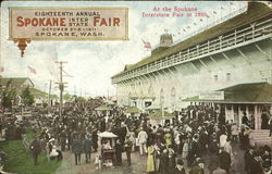 At The Spokane Interstate Fair In 1910