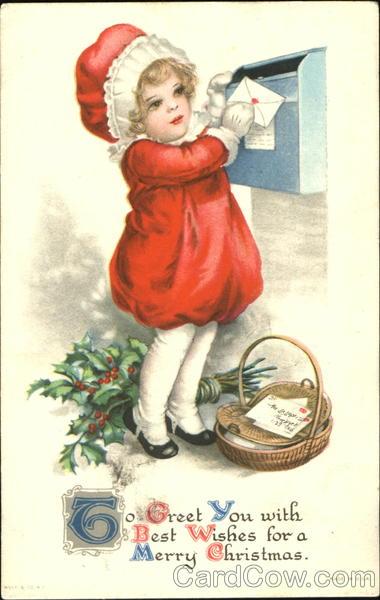 Christmas Address Stamp