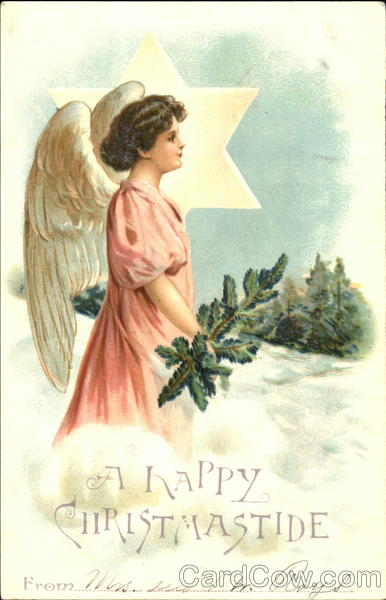 A Happy Christmastide Angels