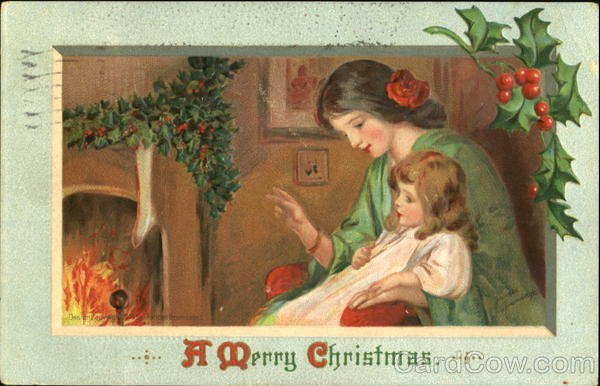 A Merry Christmas Frances Brundage