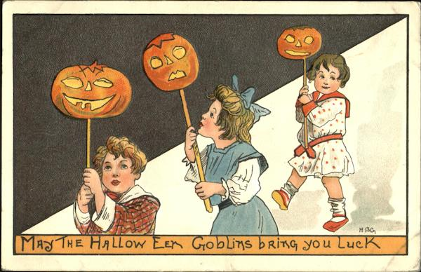 May The Hallow Even Goblins Bring You Luck H.B. Griggs (HBG)