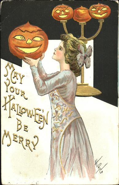 May Your Hallow-Even Be Merry H.B. Griggs (HBG) Halloween