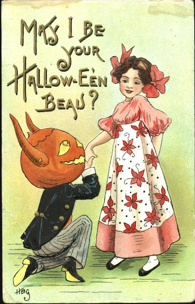 May I Be Your Hallow-Even Beau? H.B. Griggs (HBG) Halloween