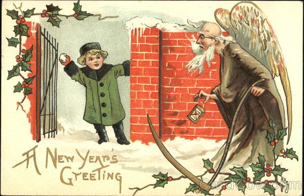 A New Year's Greeting H.B. Griggs (HBG) H. B. Griggs (HBG)