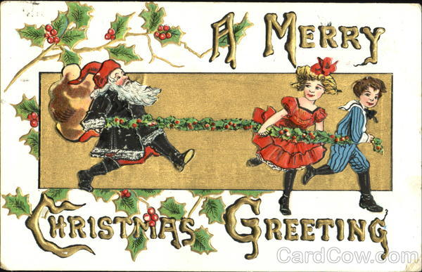 A Merry Christmas Greeting H.B. Griggs (HBG) H. B. Griggs (HBG)