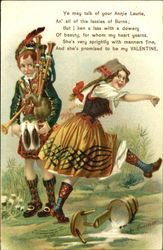 Children Bagpipes Postcard