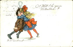 O! Will I Be Your Valentine? Postcard