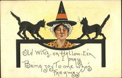Witch w/Cats